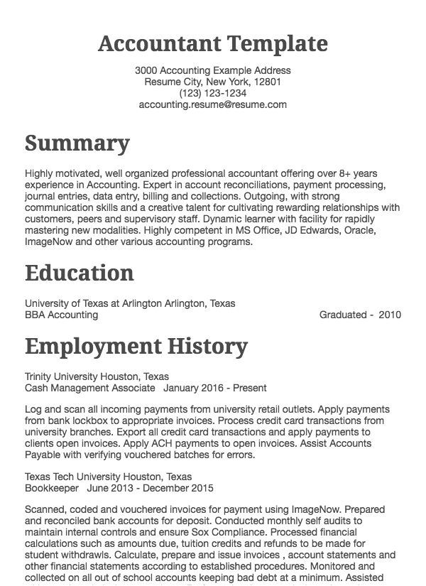 accounting resume samples all experience levels sample summary chartered accountant Resume Sample Accounting Resume Summary