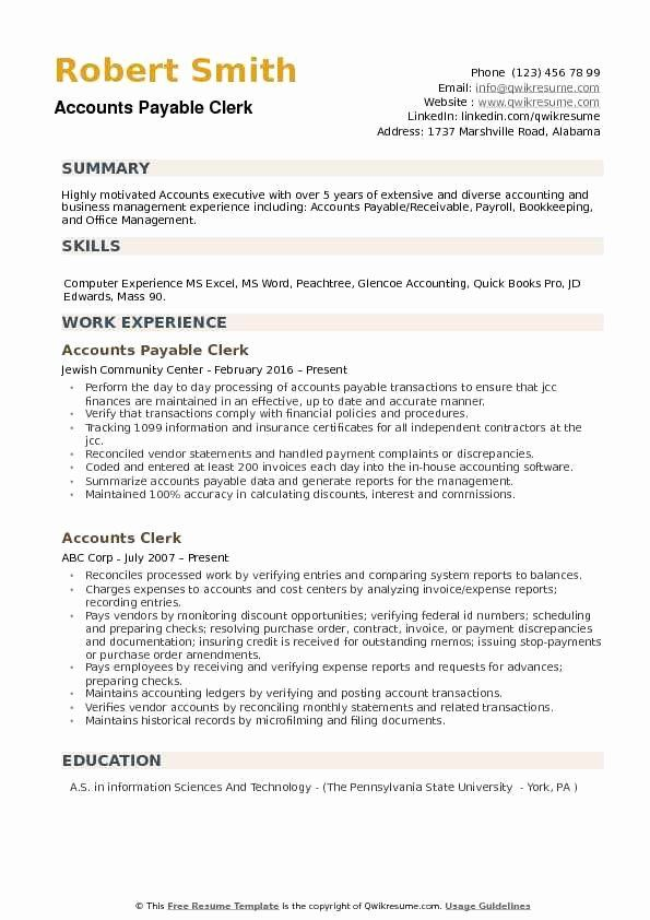 accounts payable job description resume beautiful clerk samples teacher examples records Resume Records Management Clerk Resume Sample