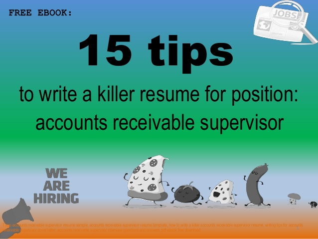 accounts receivable supervisor resume sample pdf ebook free upload software uline coded Resume Accounts Receivable Supervisor Resume