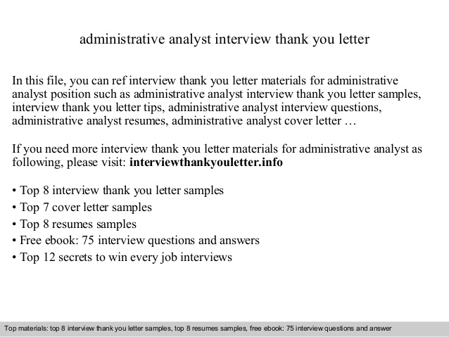 administrative analyst resume sample good objective for teaching medical lab scientist Resume Administrative Analyst Resume Sample