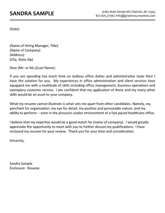 administrative assistant cover letter job for resume example of microsoft templates Resume Example Of Resume Cover Letter For Administrative Assistant