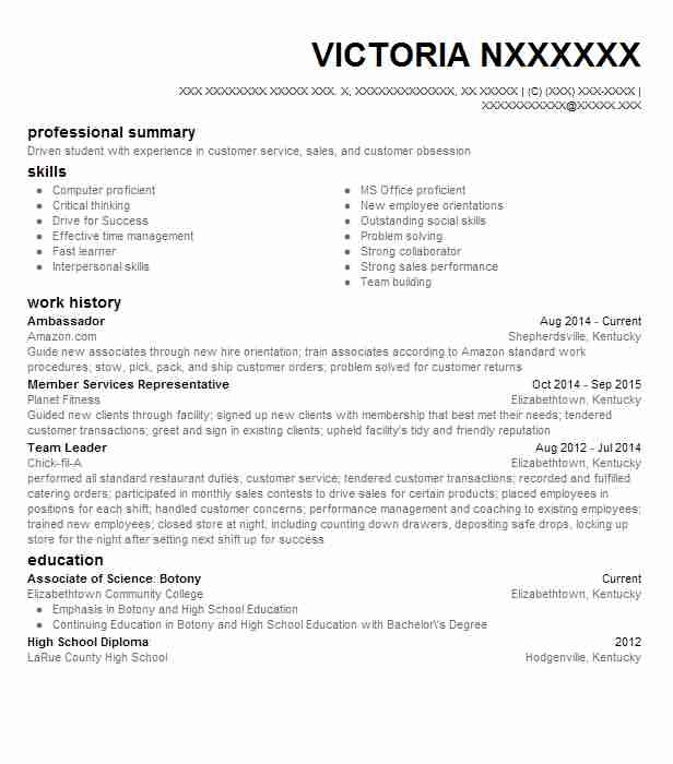 ambassador resume example resumes misc livecareer entry level brand paragraph about Resume Entry Level Brand Ambassador Resume