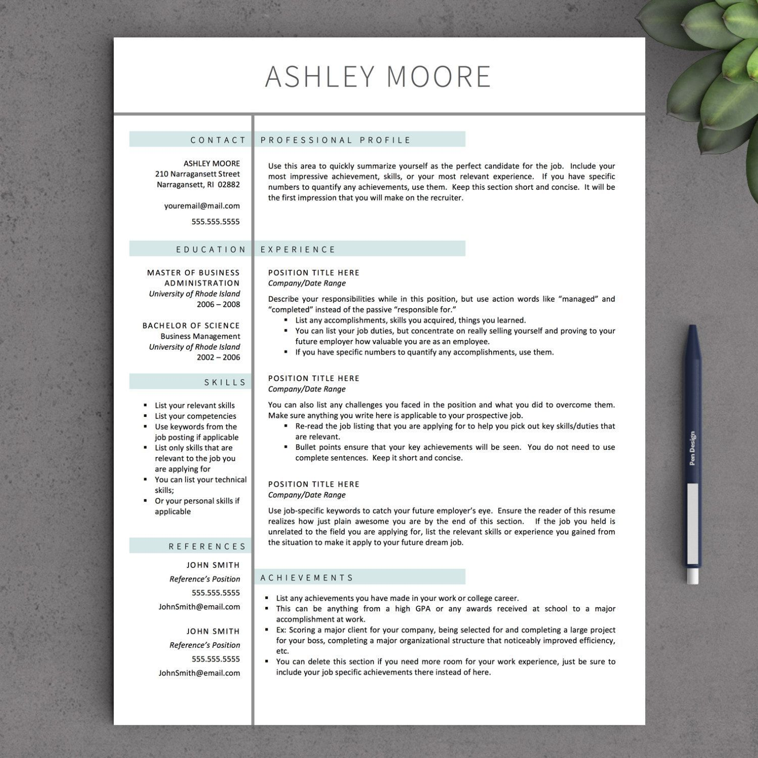 apple resume template templates for professional downloadable modern best informatica Resume Best Pages Resume Template