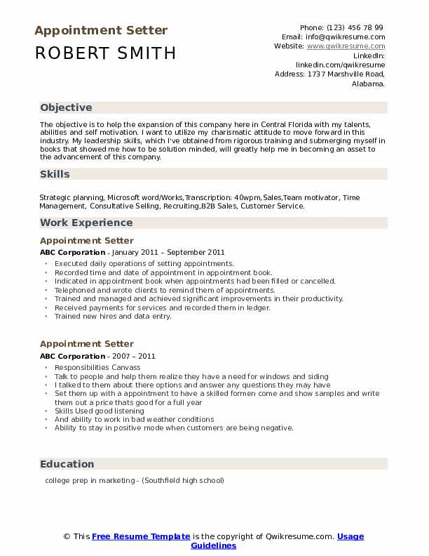 appointment setter resume samples qwikresume about sample pdf chief risk officer herodias Resume Resume About Me Sample