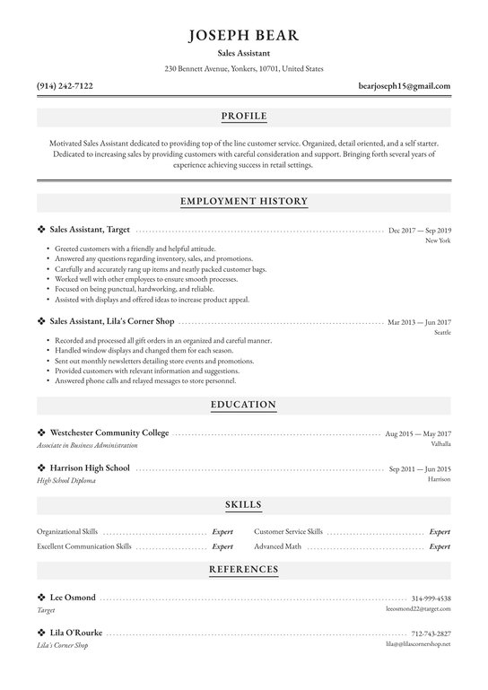 assistant resume examples writing tips free guide general sample objective for mba Resume Writing A General Resume