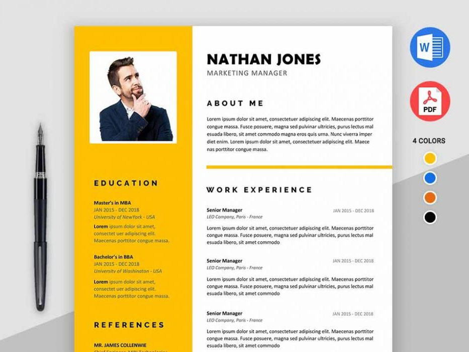 assure resume free modern template for ms word templates 1000x700 first job beginner Resume Free Modern Resume Templates For Word