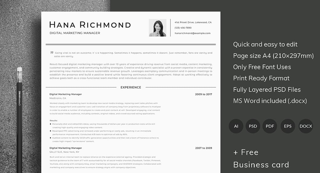 ats friendly resume template format guide sample cv templates preview salesforce Resume Resume Format Ats Friendly