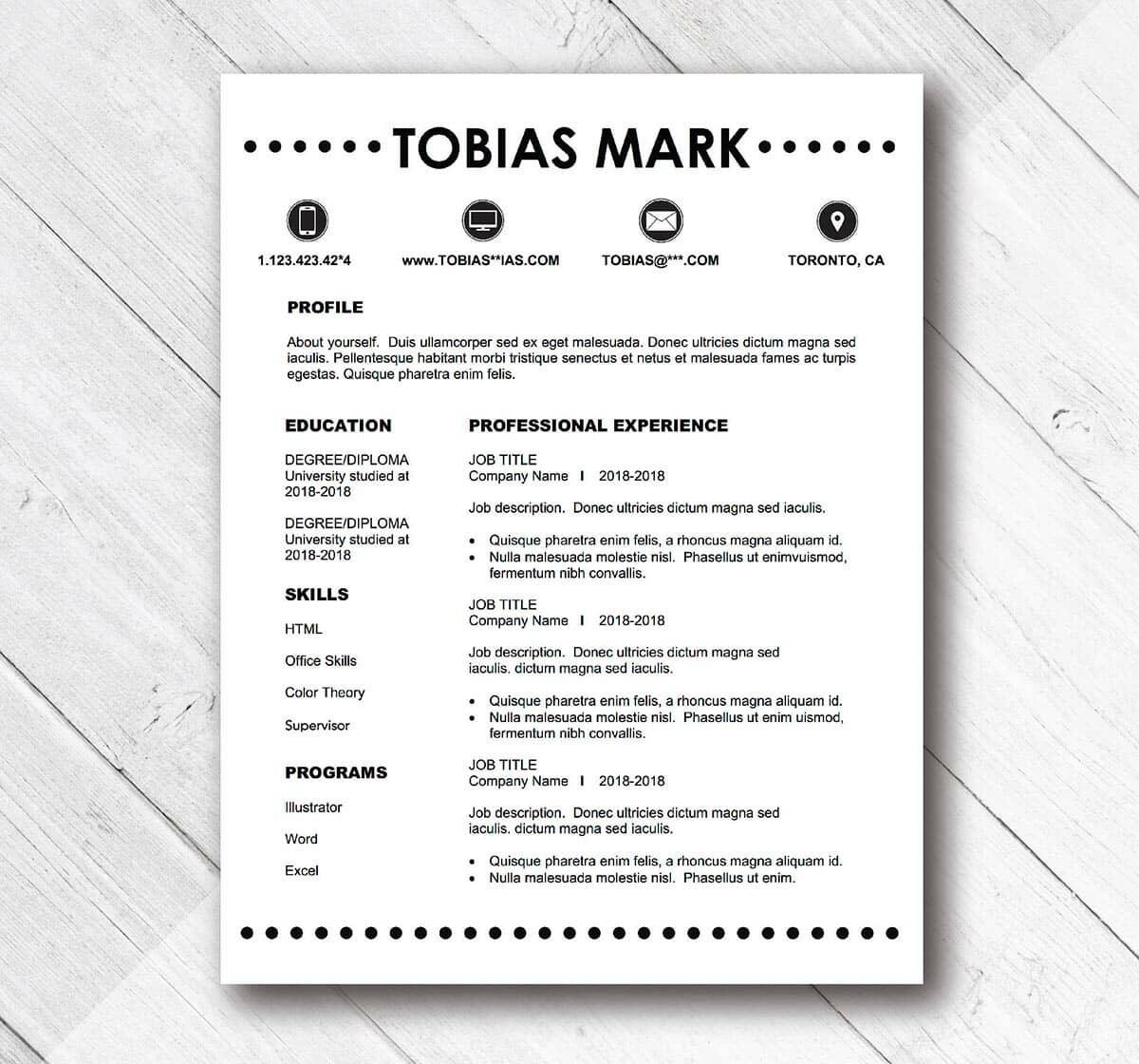 basic and simple resume template examples quick easy templates business development for Resume Quick And Easy Resume
