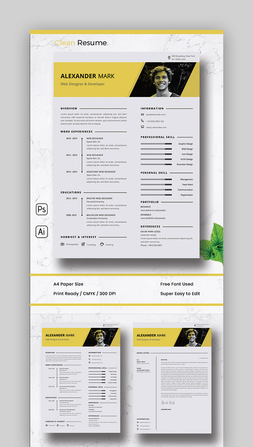 best contemporary resume cv templates new modern styles for the step pizza hut delivery Resume The 24 Step Modern Resume
