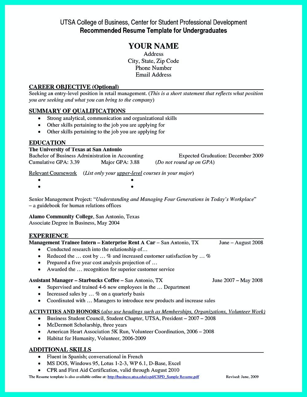 best current college student resume with no experience job examples template for fresh Resume Job Resume For Fresh Graduate