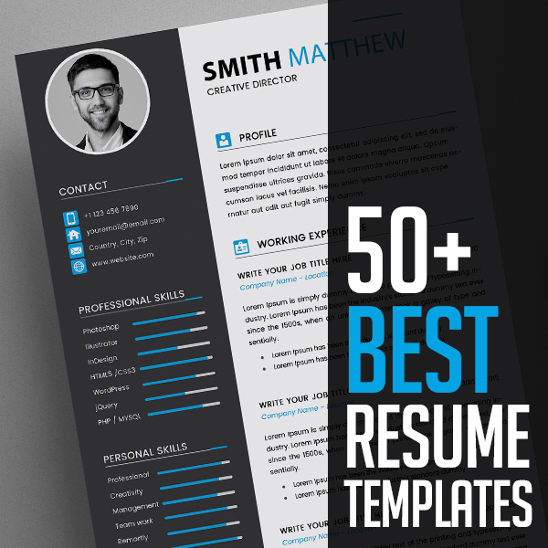 best cv resume templates design graphic junctiongraphic junction event manager sample Resume Best Resume Templates 2020