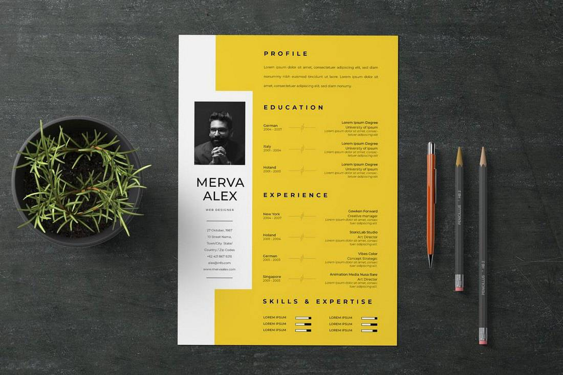 best cv resume templates design shack pretty creative template agile project manager Resume Pretty Resume Templates