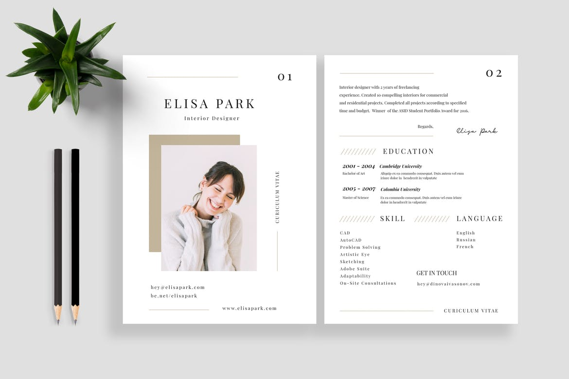 best cv resume templates theme dental technician example interests examples office Resume Best Resume Templates 2020