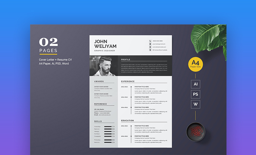 best free modern resume templates clean cv design formats template bootstrap law Resume Free Modern Resume Template 2020