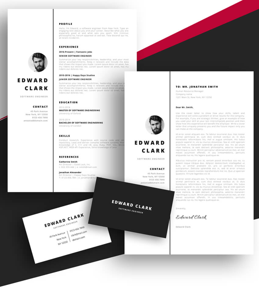 best free ms word resume cv templates for mac template meet edward technical builder Resume Best Pages Resume Template
