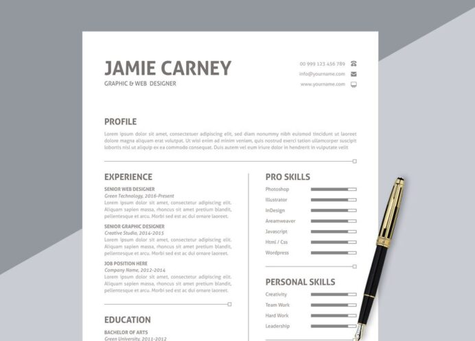 best free ms word resume templates webthemez resumes for simple format in 1000x720 Resume Best Resumes For 2020