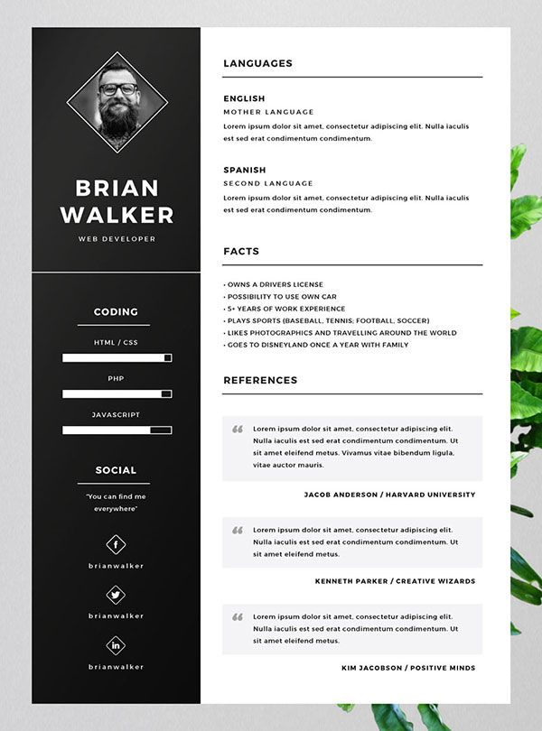 best free resume cv templates in indesign word formats template the emergency room nurse Resume The Best Free Resume Templates