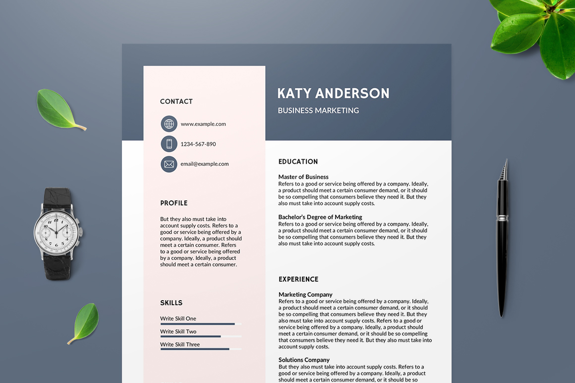best free resume templates of eye catching montpellier template professional summary for Resume Eye Catching Resume Templates Free