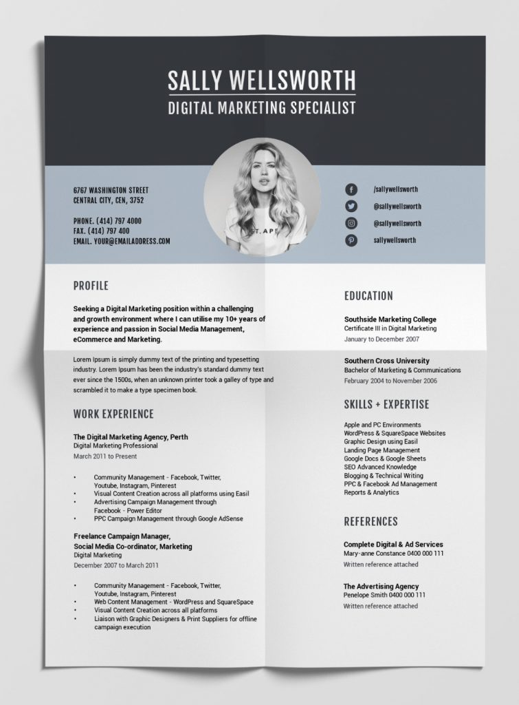 best free resume templates tips on to stand out easil eye catching resumes template Resume Eye Catching Resumes Templates Free