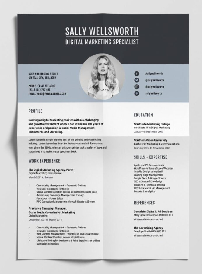 best free resume templates tips on to stand out easil layouts that template 755x1024 Resume Resume Layouts That Stand Out
