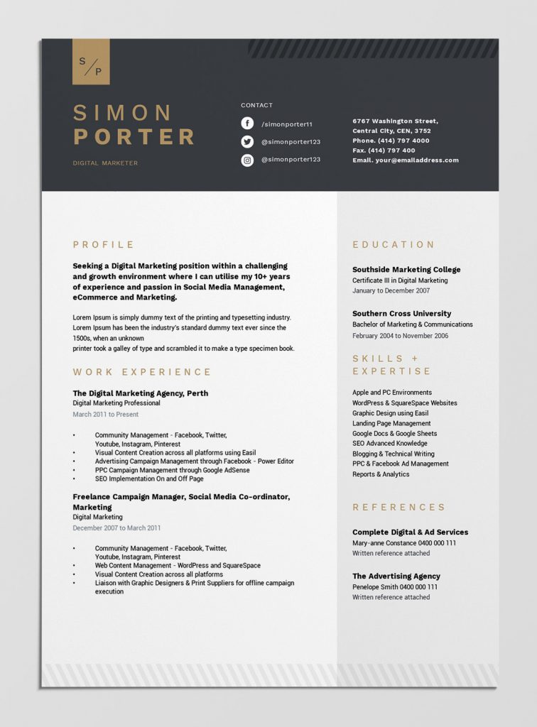best free resume templates tips on to stand out easil layouts that template design Resume Resume Layouts That Stand Out