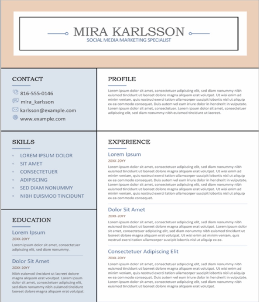 best modern teacher resume templates free premium examples professional template columns Resume Professional Teacher Resume Template