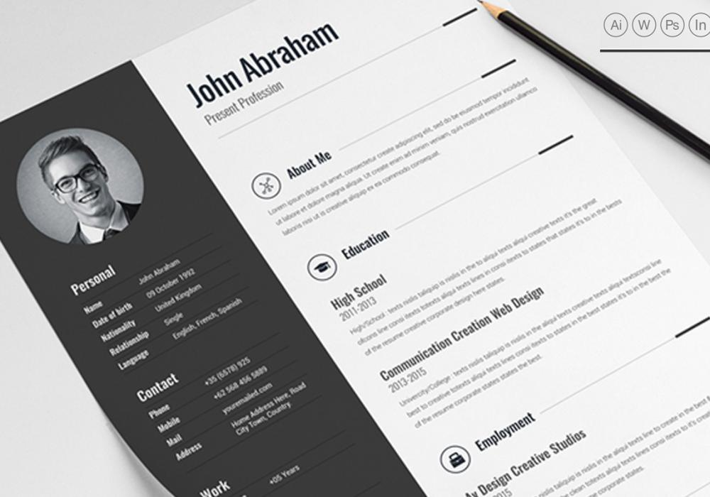 best professional clean resume template ms word in maxresumes templates free popular Resume Best Resume Templates 2020 Free Download Word