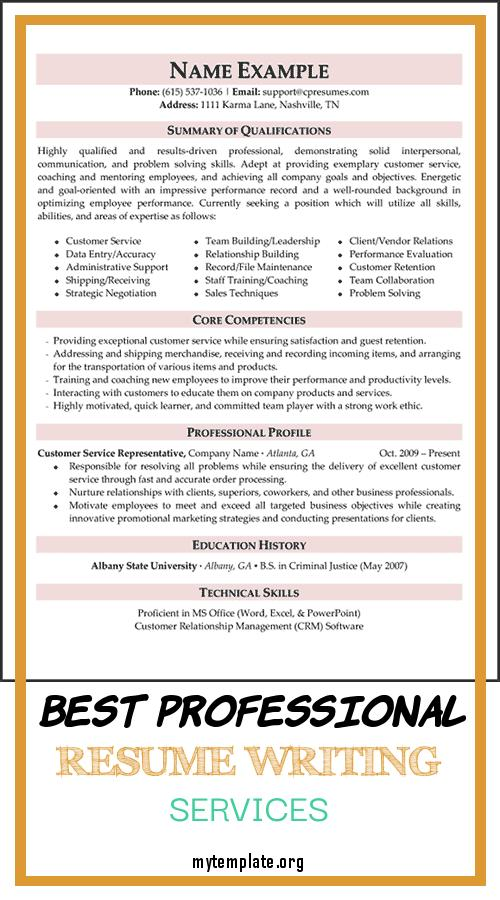best professional resume writing services free templates of samples pin opening statement Resume Free Professional Resume Writing Services