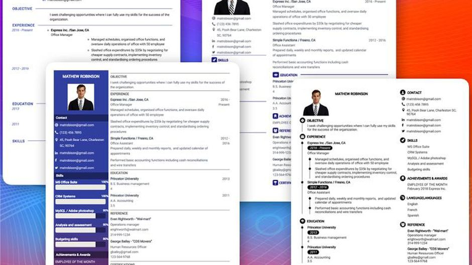 best resume builder of cnet free unnamed examples clothing salesperson all format student Resume Free Resume Builder 2020