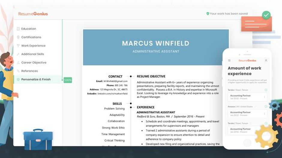 best resume builder of cnet websites that help you write screen shot at am action words Resume Websites That Help You Write A Resume