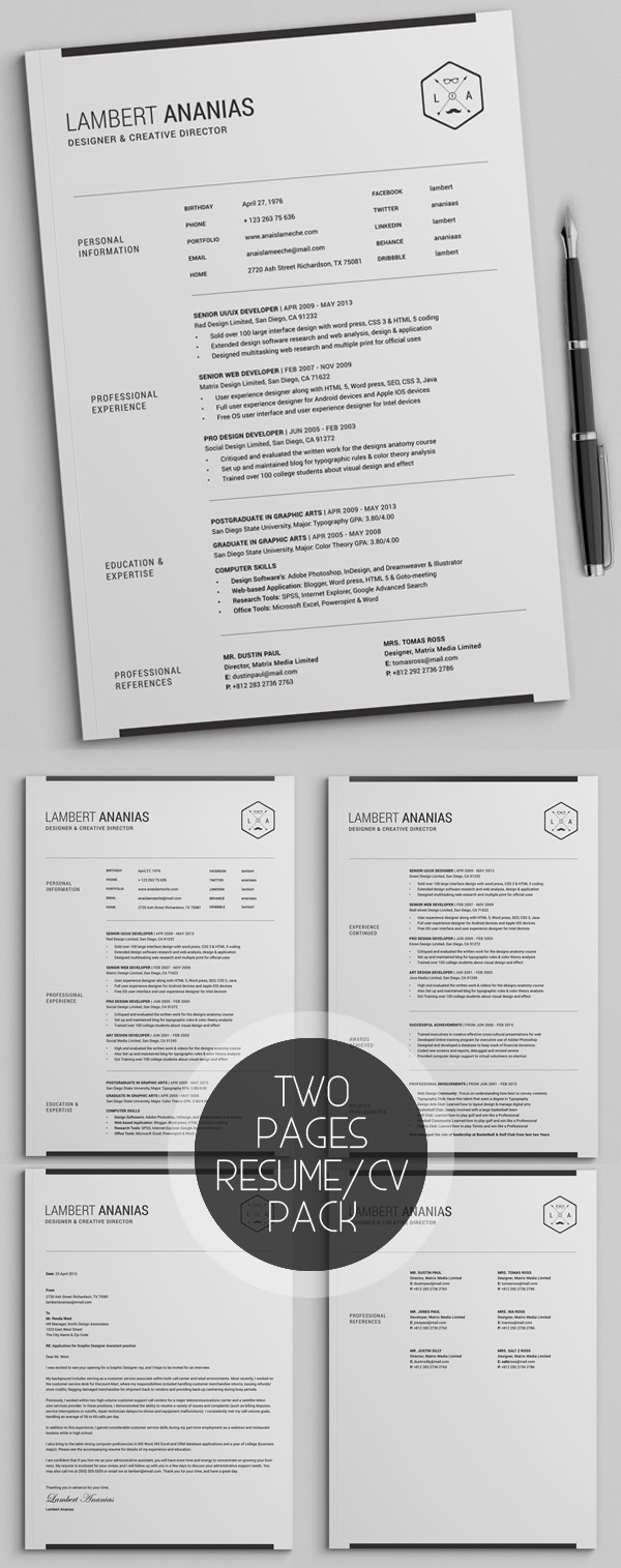 best resume templates for design graphic junction template listing babysitting on medical Resume Best Pages Resume Template