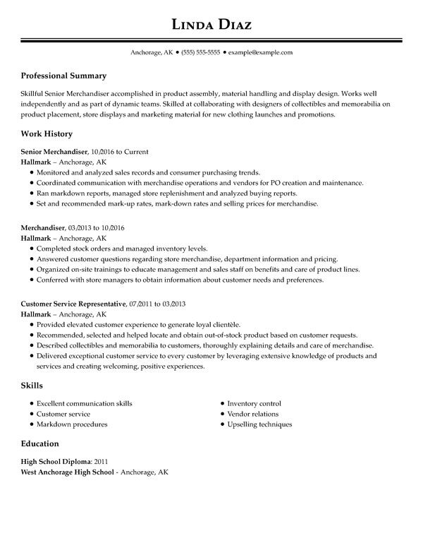 best resume templates for my perfect template professional senior merchandiser unit Resume Perfect Resume Template
