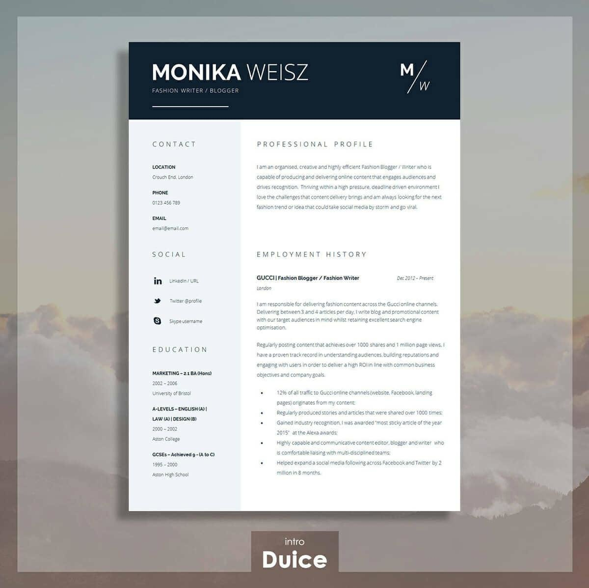 best resume templates for top picks to most popular template night stocker weebly case Resume Most Popular Resume Template