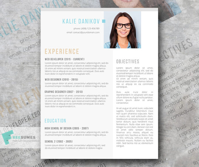 best resume templates to and start sending out today freesumes modern template the clean Resume Best Modern Resume Template
