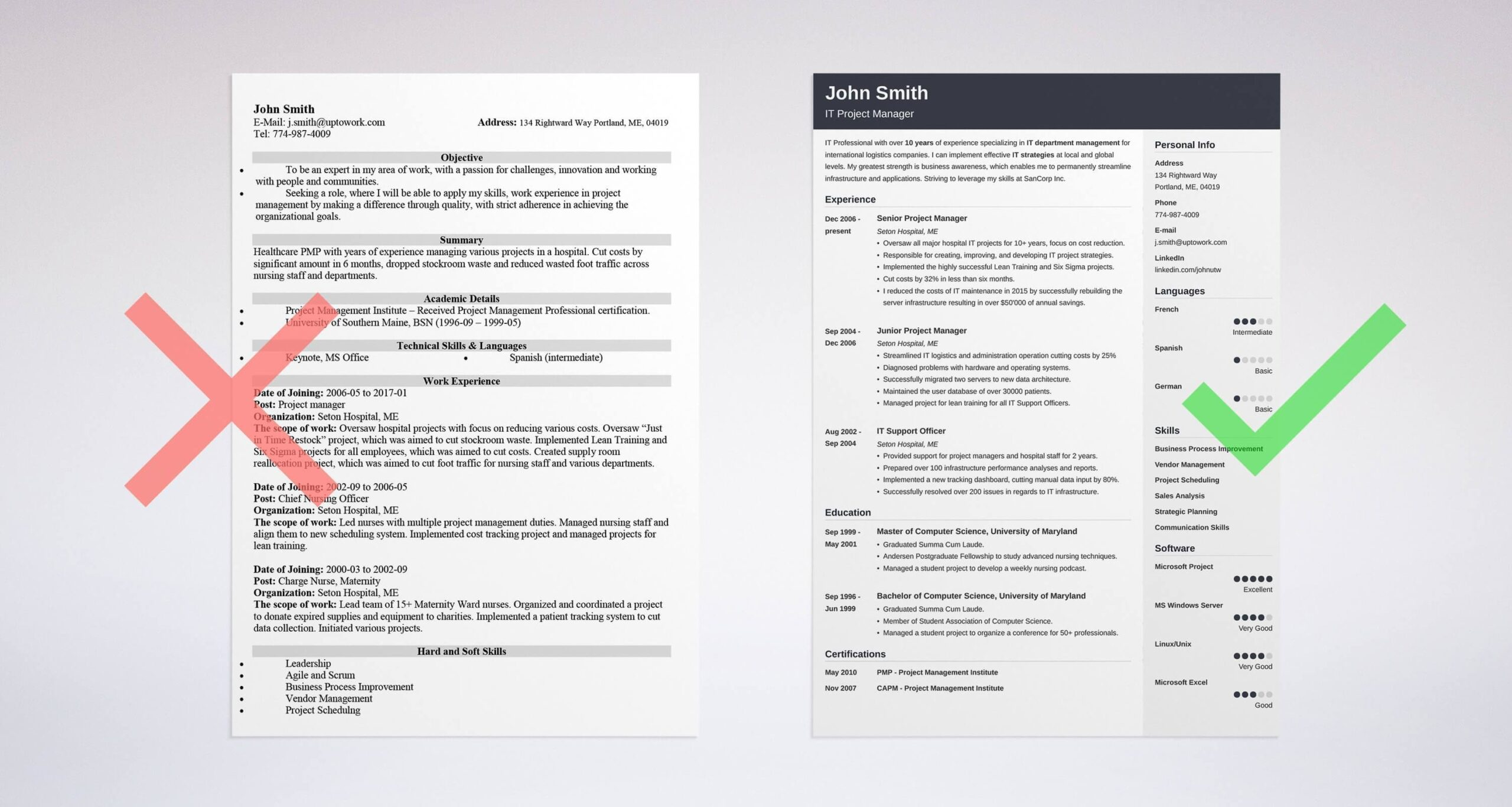 best resume tips great tricks and writing advice creating good project manager makeover Resume Creating A Good Resume
