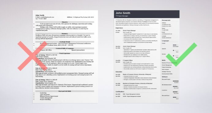 best resume tips great tricks and writing advice good project manager makeover cubic guru Resume Writing A Good Resume