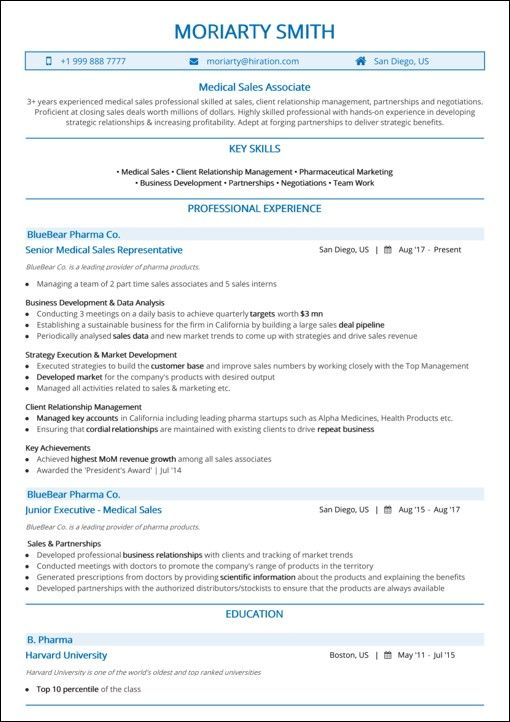 best resume top templates samples examples hiration medical sample word australian high Resume Sales Resume Examples 2020