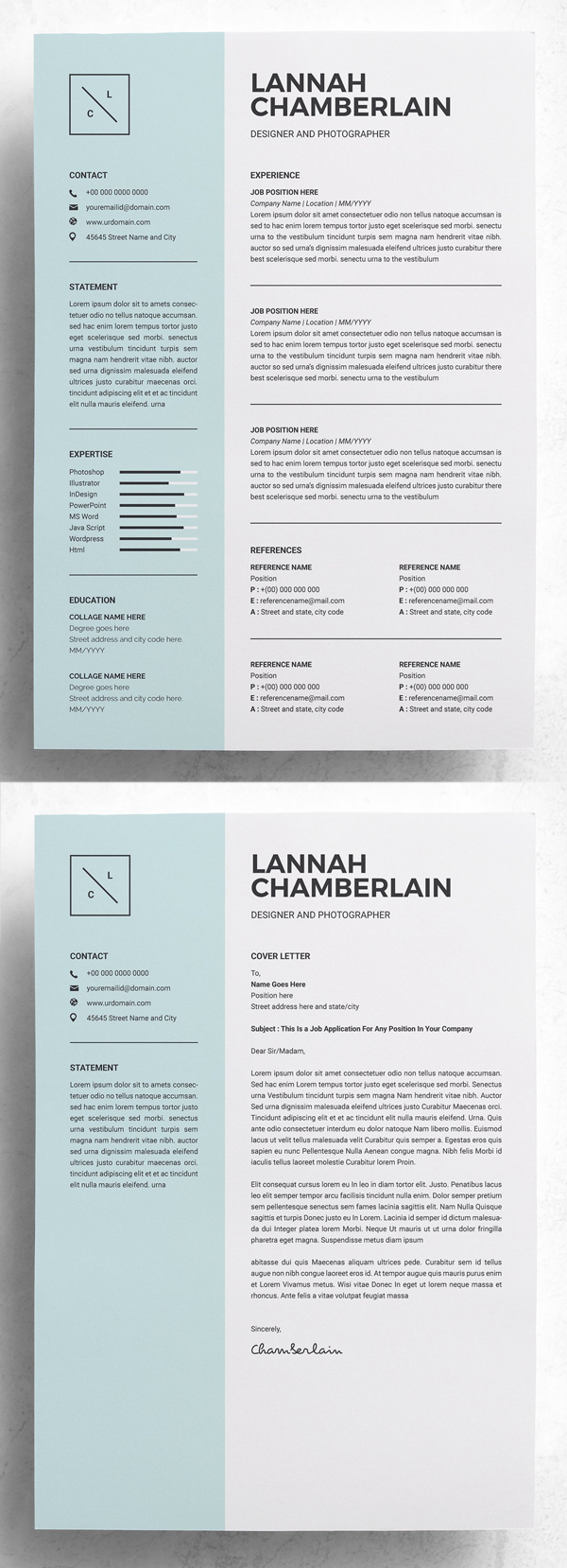 best simple clean resume templates design graphic junction professional template creative Resume Clean Professional Resume Template