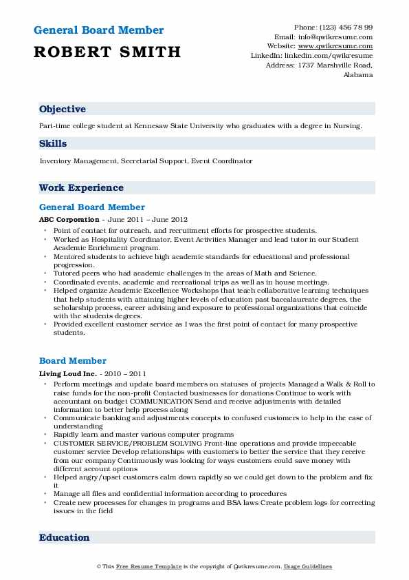 board member resume samples qwikresume for position sample pdf overleaf templates ceh Resume Resume For Board Position Sample