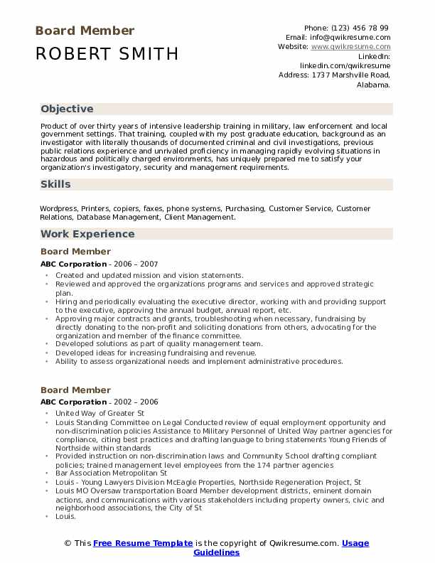 board member resume samples qwikresume for position sample pdf remove indeed art designer Resume Resume For Board Position Sample