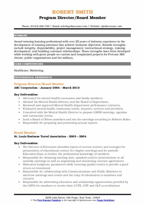 board member resume samples qwikresume for position sample pdf salon stylist examples Resume Resume For Board Position Sample
