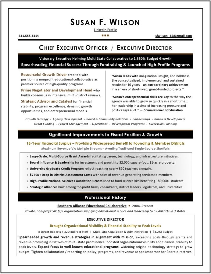 board of directors resume sample executive writer for position nonprofit cool writing Resume Resume For Board Position Sample