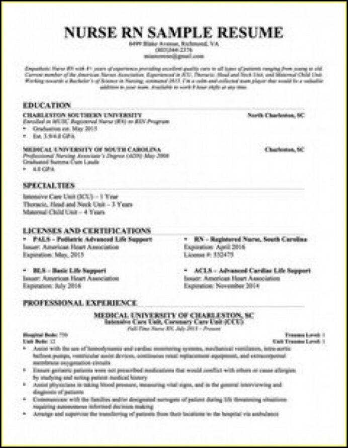 bsc resume format pdf best examples nursing for freshers 700x901 free emt templates ex Resume Resume Format For Freshers Pdf