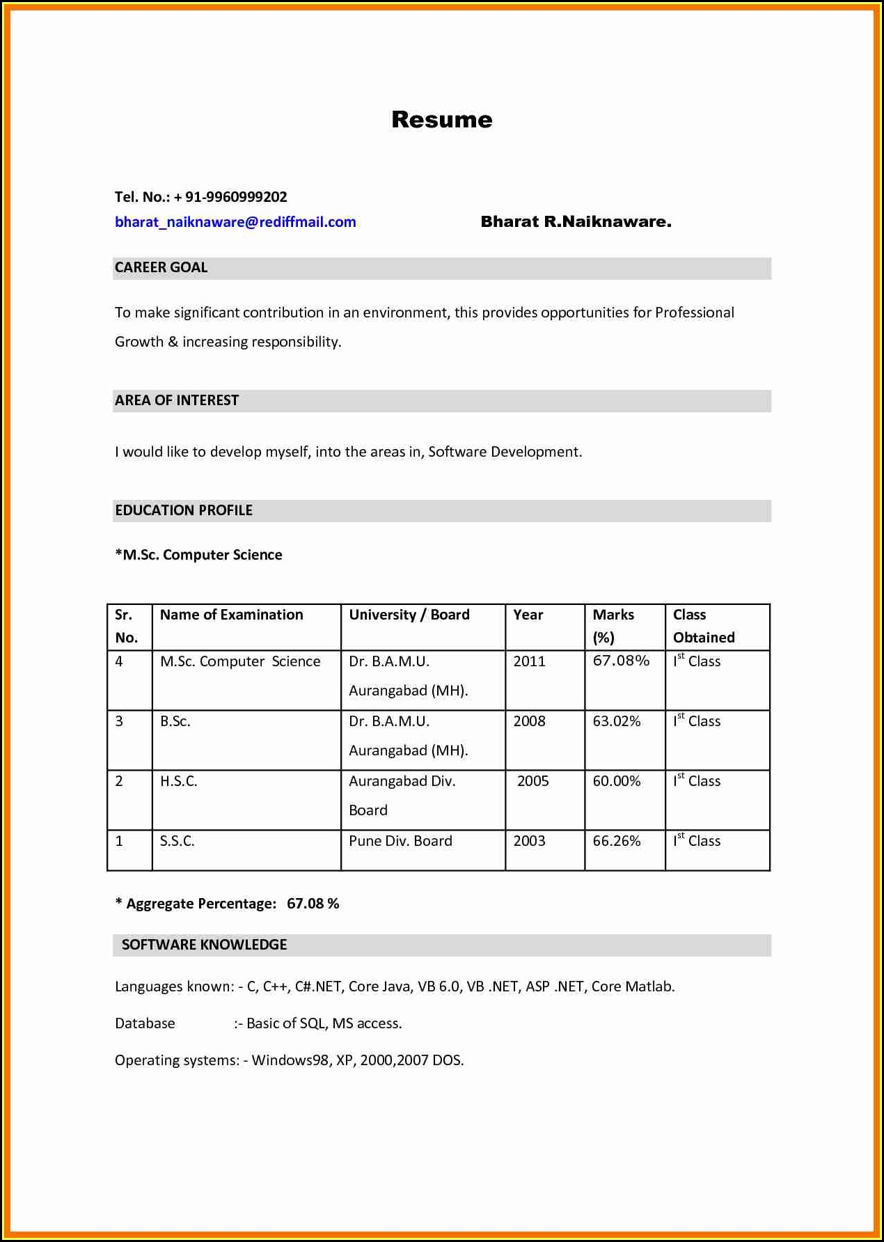 bsc resume format pdf best examples sample for nursing fresher experienced apn dos and Resume Resume Format For Freshers Pdf