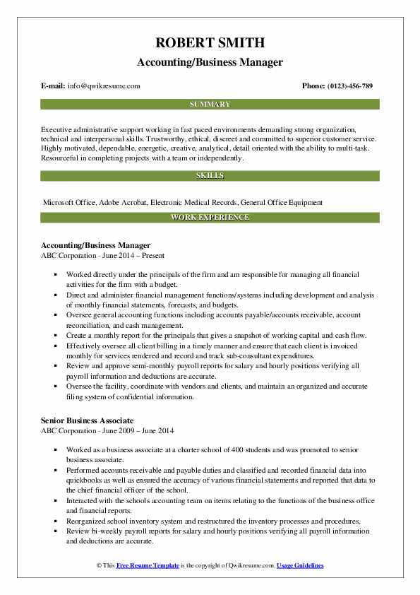 business manager resume samples qwikresume management experience pdf objective for Resume Management Experience Resume