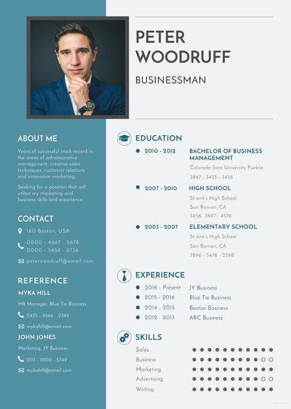 business resume template free word excel pdf format premium templates company home Resume Company Resume Template Word