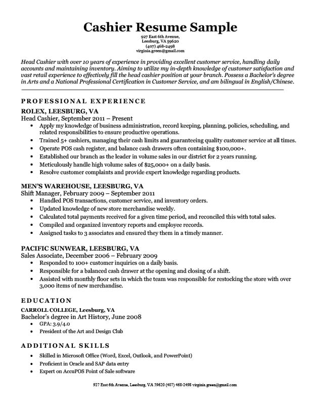 by resume samples cashier format better word for physical therapy aide summary manager Resume Better Word For Cashier For Resume
