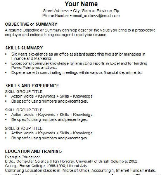 by to write job resume format making your first profile examples for students marketing Resume Making Your First Resume