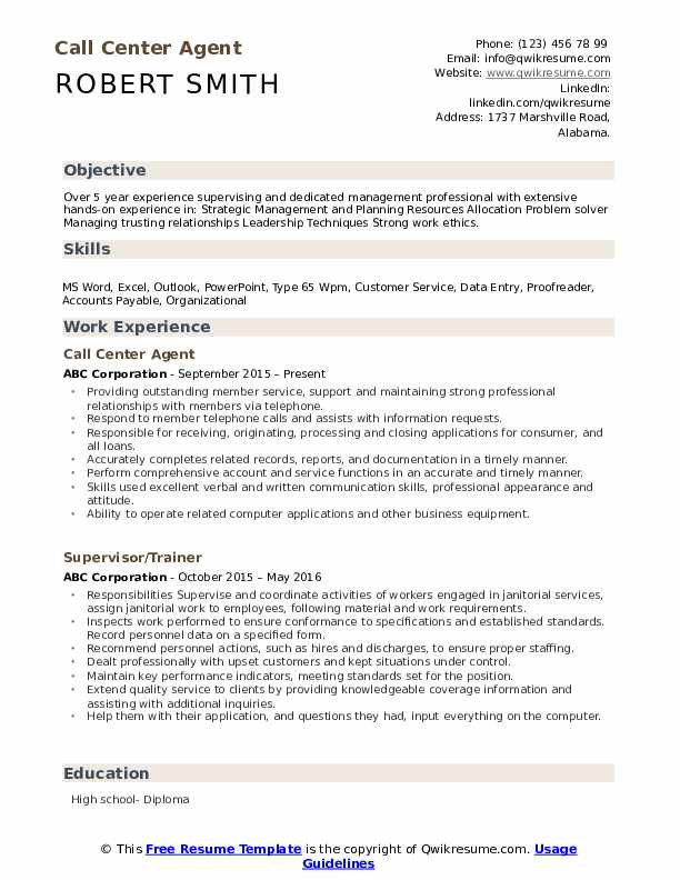 call center agent resume samples qwikresume for pdf police writing services automotive Resume Resume For Call Center Agent