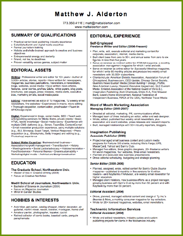 careers news and advice from aol finance resumes for writers editors aldertonresume Resume Resumes For Writers And Editors